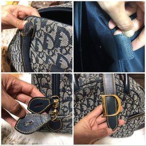 Dior Bags - CHRISTIAN DIOR DOUBLE SADDLE TROTTING MONOGRAM BAG